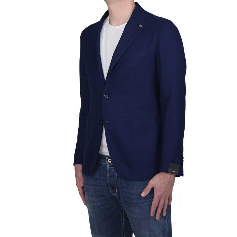 Giacca Tagliatore Blu Royal
