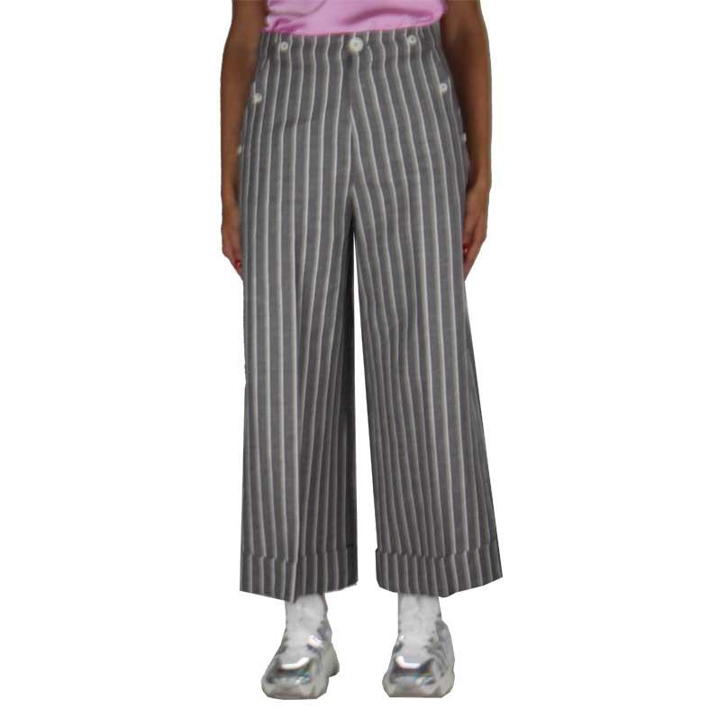 pantalone merci righe sottili