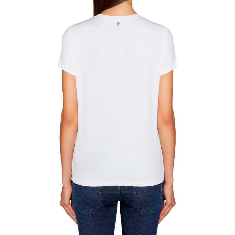 t-shirt dondup applicazioni gioello