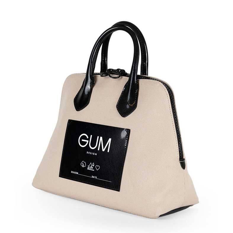 borsa gum canvas media corda