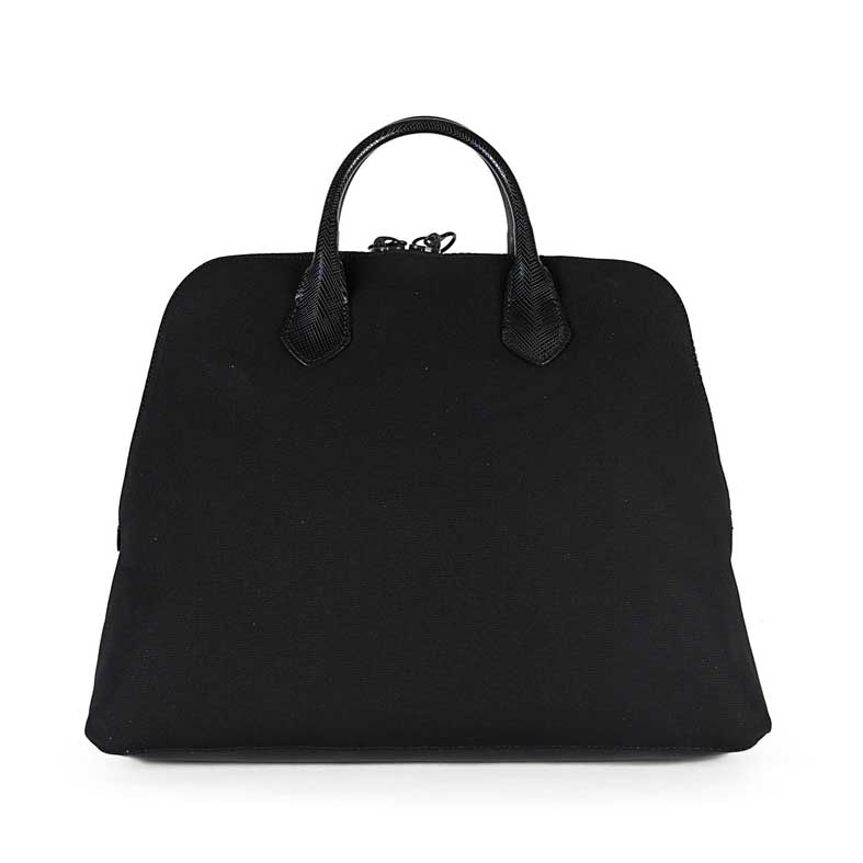 borsa gum canvas media nera