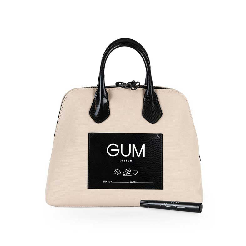 borsa gum canvas small corda