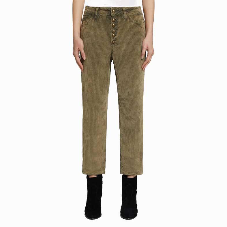 Pantaloni Koons Dondup in velluto
