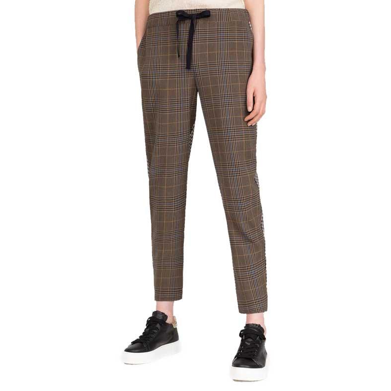 pantaloni buddy check semicouture