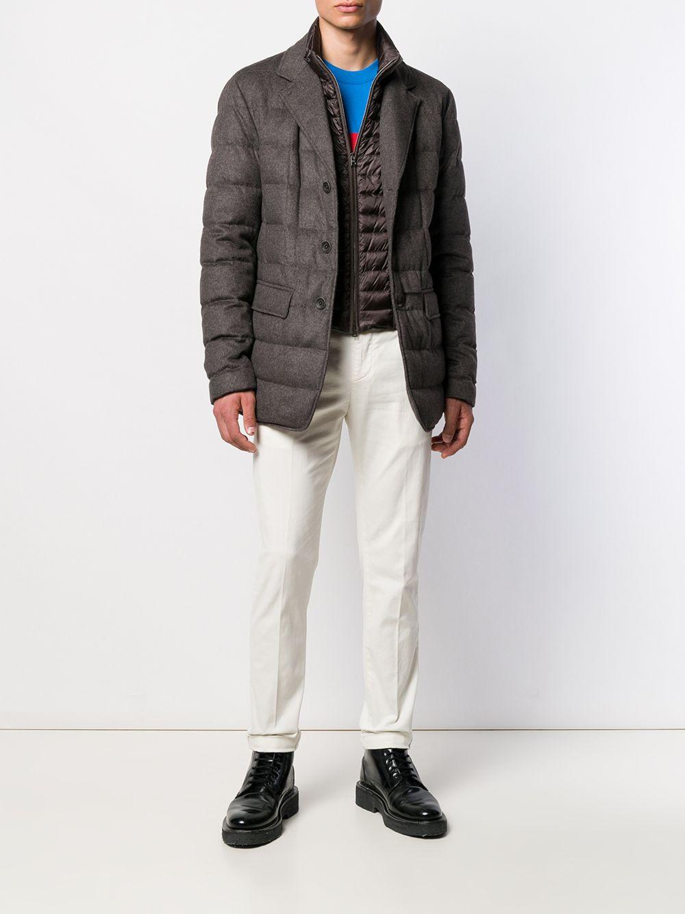 pantalone gaubert dondup bianco