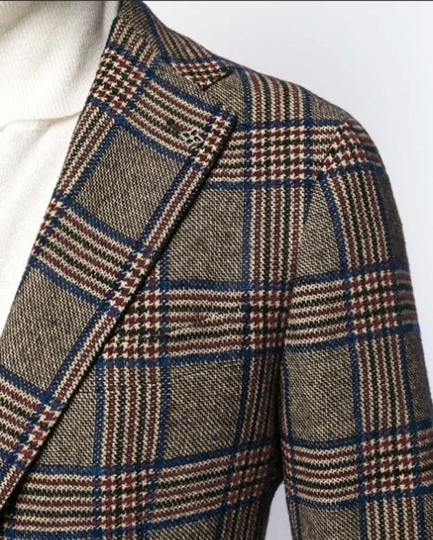 giacca Tagliatore quadri