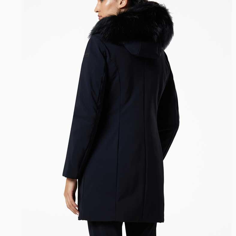 giubbotto rrd winter long lady fur t