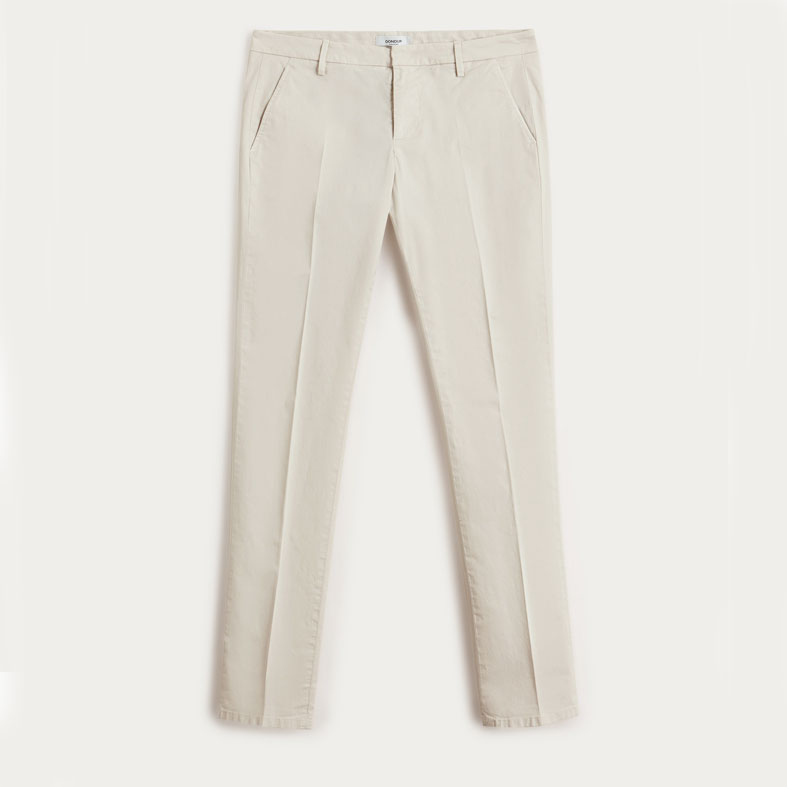 pantaloni dondup gaubert beige