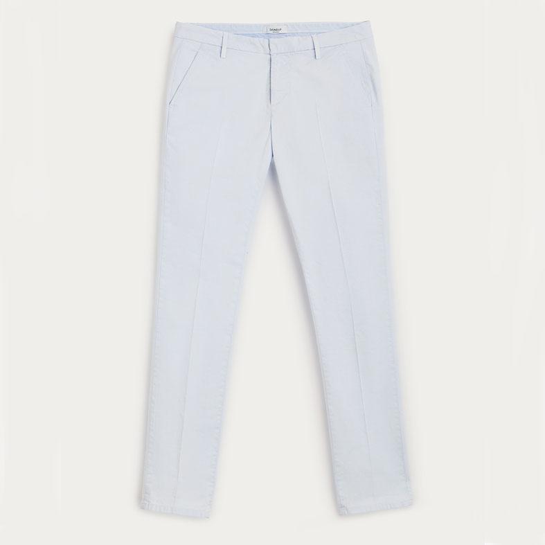 pantalone dondup gaubert ghiaccio