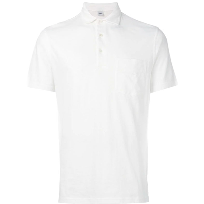 polo aspesi jersey bianca