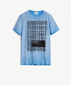 tshirt dondup lettering