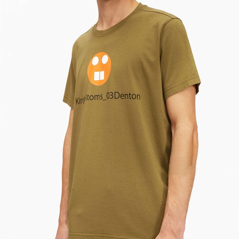 T-shirt aspesi denton verde kinky