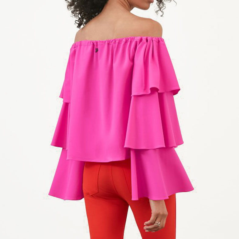 top dondup fucsia