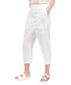 "Pantalone Semicouture ""Anmarie"" in popeline"