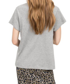T-shirt Semicouture in jersey con log