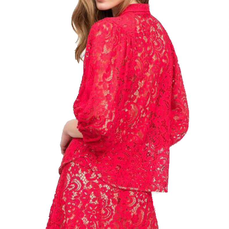 """Blusa Semicouture """"Louise"""" in pizzo"""