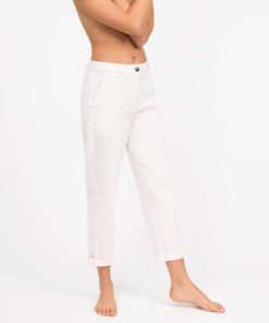 "Jeans Semicouture ""Mom"" a sigaretta"