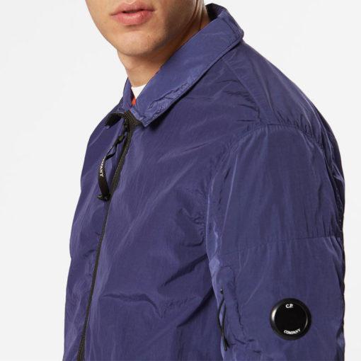 overshirt cp company blu
