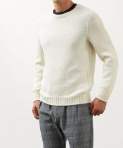 maglia dondup bianca