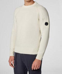maglia cp company bianca