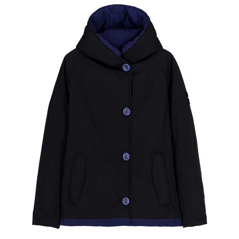 """DESCRIZIONE La giacca corta OFFWEAR modello 9006, articolo 202MOFJA9006_202OF18_4536, colore fucsia/rosso, è realizzato, sia all'interno che all'esterno, in tessuto chiamato memory. Imbottito con ovatta Sorona® Eco-Certificata e 100% Animal Friendly. E' un modello dalla vestibilità leggermente over, con cappuccio e manica raglan. Reversibile COMPOSIZIONE Il giubbotto è realizzato in 100% PL. Sia internamente che esternamente è realizzato in tessuto memory Imbottitura: Ovatta Sorona® Eco-Certificata e 100% Animal Friendly COME ABBINARLO Puoi abbinare il giubbotto con jeans o pantaloni per outfit sportivi e di tendenza. CURIOSITA' Il tessuto chiamato """"memory"""" è un'esclusiva mischia di fibre che dona al materiale la capacità di adattarsi ritornando poi alla sua forma originale senza lo stiro IL NOSTRO CONSIGLIO Indossa il giubbotto per completare un look disinvolto e casual; è un capo pratico e versatile, perfetto per look quotidiani e sportivi ma sempre di tendenza. Essendo reversibile non ti annoierà mai!"""