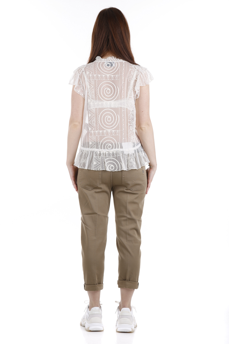 Camicia in tulle Dondup