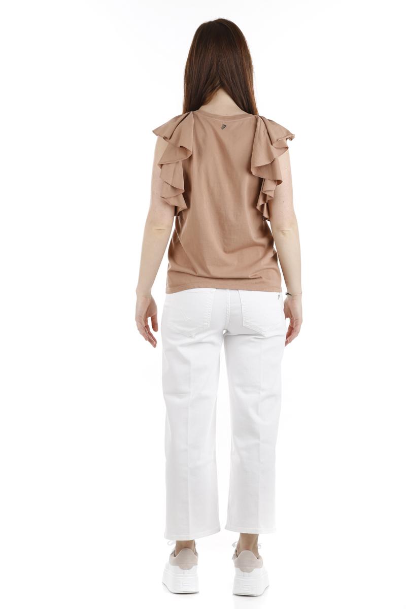 Jeans Dondup Avenue Bianco