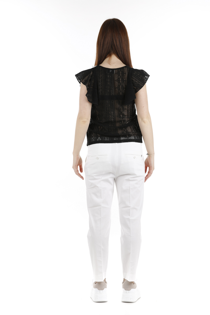 Pantalone Dondup Nima Bianco