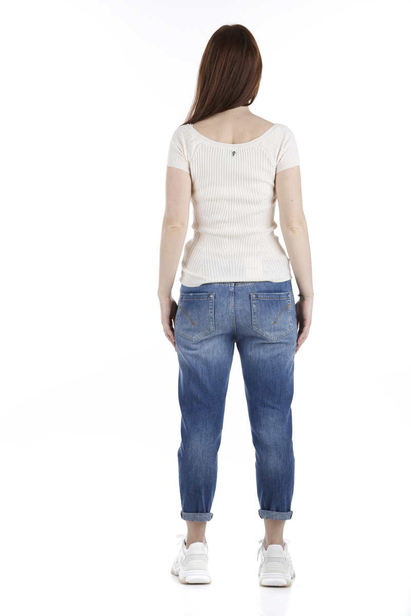 Jeans Dondup Zoe Ricamato