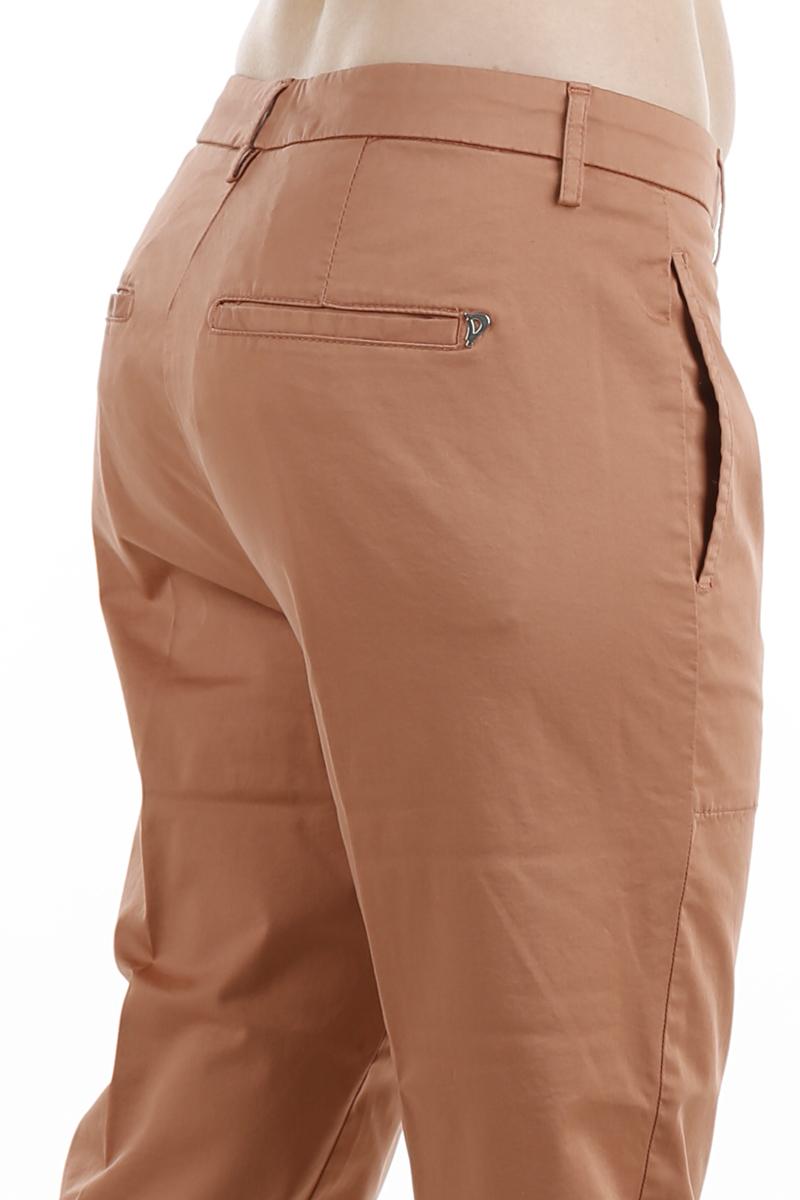 Pantalone Dondup Ela in raso Karkadè