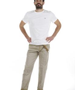 Pantaloni White Sand macchiato