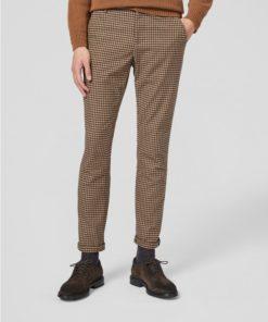 pantalone dondup quadretto